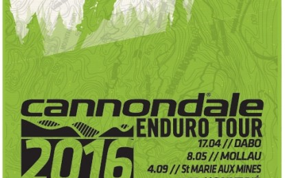 Cannondale Enduro Tour : gagnez un maillot collector