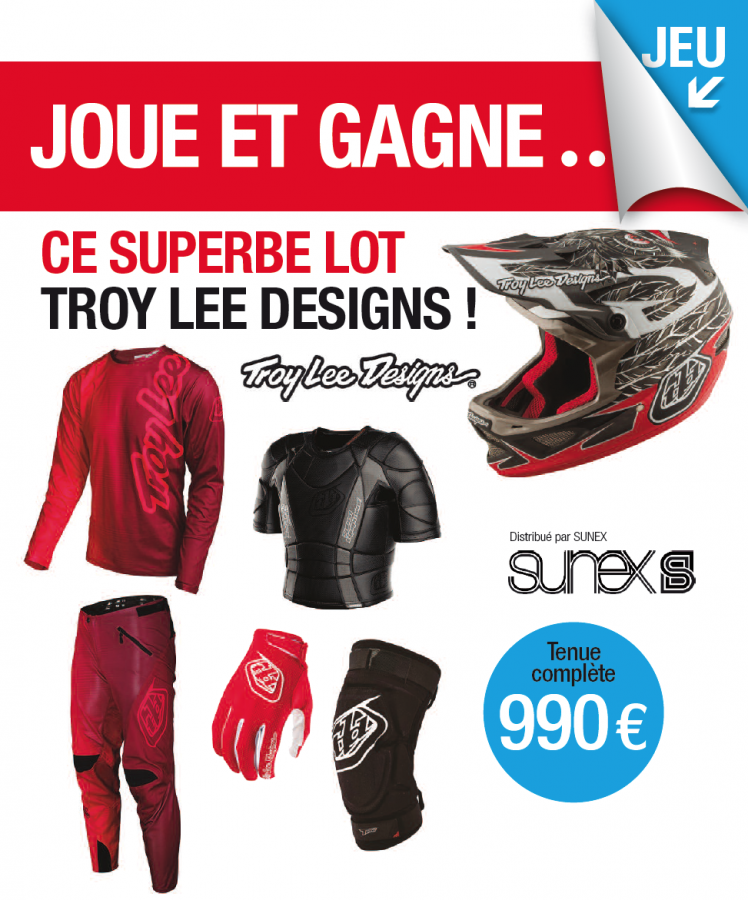 Jeu Troy Lee Design / Ride it 60