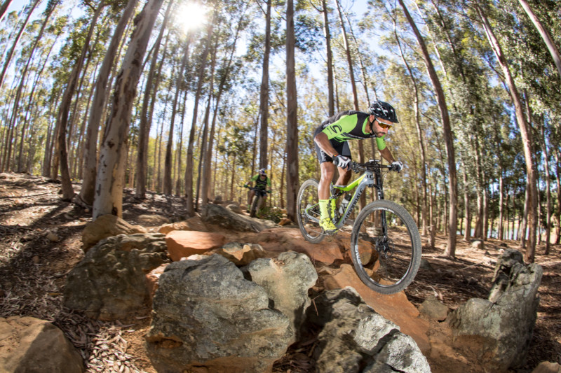Cannondale Factory Racing XC Team avec Shimano