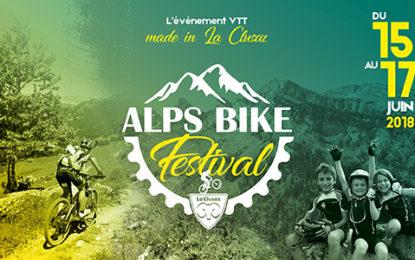 Ouverture des inscriptions Alps Bike Festival aujourd'hui !
