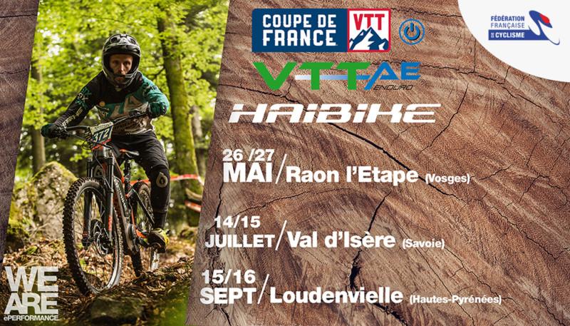Inscriptions Coupe de France VTTAE aujourd'hui à 19h